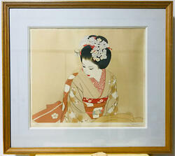 Tatsumi Shimura Hc Lithograph Autographed With Warranty Original F/s From Japan