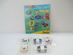 Vintage General Mills Shark Tale Hand Held Video Games From Cereal Boxes Set
