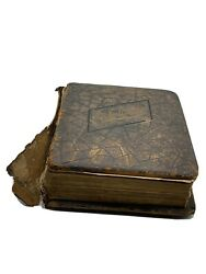 Holy Bible Antique Parallel Column Edition Rare 1888 -133 Years Old Illustrated
