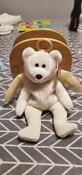 Ty Beanie Babies Halo Brown Nose 1998 Rare With Errors
