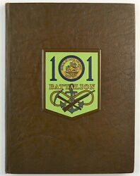 101st Naval Construction Battalion Wwii Okinawa Unit History Book