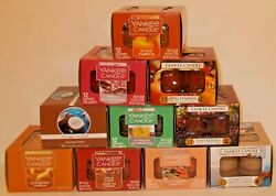 NEW YANKEE CANDLE BOX OF 12 TEALIGHT CANDLES YOUR CHOICE FREE SHIP