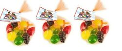 Dely-gely Fruit Jelly | 30 Piece Squeezable Jellies | 3 Packs 10 Pieces Each...