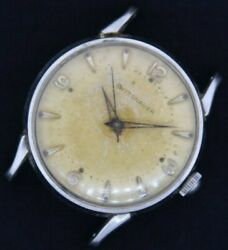 Vintage 11 Esb Wittnauer 17 Jewel Manual Wind Menand039s Watch 2002 Stainless Steel