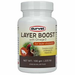Durvet Layer Boost W/ Omega-3 For Laying Hens