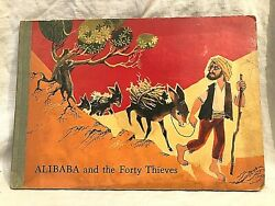 Alibaba And The Forty Thieves - 1st/1st 1960 Bancroft - Two Pop Ups - Scarce