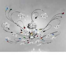 Ceiling A 6 Lights Modern Chrome Colorful Ilab Marg-plg