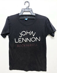 Vintage 80s John Lennon Rock And Roll You Shouldand039a Been There T-shirt The Beatles