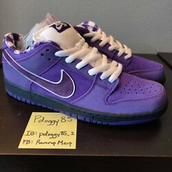 Ds Nike Dunk Sb Low Pro Cncpts Purple Lobster Special Box Bv1310-555 Concepts 1