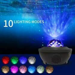 Galaxy Starry Night Lamp Led Star Projector Night Light Ocean Wave Projector