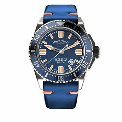 Armand Nicolet Jss Blue Leather