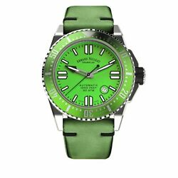 Armand Nicolet Jss Green Leather