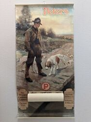 The Peters Cartridge Company Reproduction 1917 Calendar 2001 Hunter With Dogs