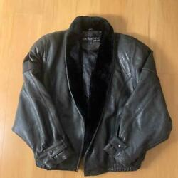 Pelle Pelle Auth Marc Buchanan Mouton Leather Jacket Black 40 Used From Japan