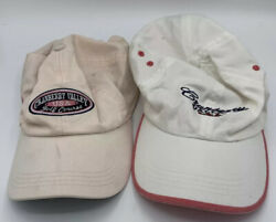 Cranberry Valley Golf Course Hats Lot Of Two Used Womens