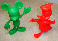 Louis Marx Disney Mickey Mouse And Donald Duck | Vintage Collectibles | Rare Find