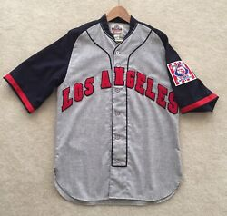Repro 1939 Los Angeles Angels Jersey Pcl From Ebbets Field Flannels Oop Medium
