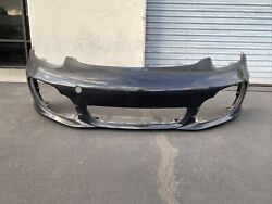 2013 2014 2015 2016 Porsche Boxster S Front Bumper Used Oem
