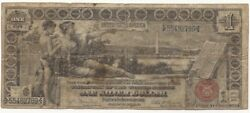 1896 1 Dollar Bill Educational Note Silver Certificate Rare Free Ship 789-wcft