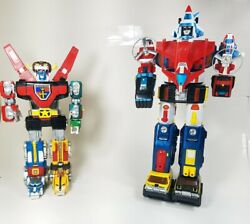 Voltron Yandk Gb-36 1981 Diecast Japan And Dairugger Japan 1982 1984 Lot Of 2