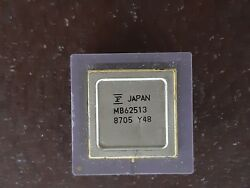 1x Cpu Japan Mb62513 As Vintage Ceramic Cpu For Gold Scrap Recovery Rare``