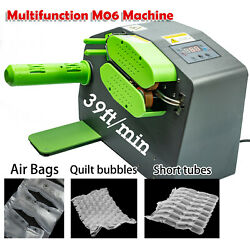 Lds Air Bag Maker Cushion Pillow Machine For Wrap Bubble Shipping Packing M06