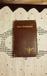 Vintage New Testament 1940's Intro By F D R White House Pocket Size Bible