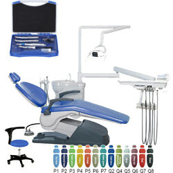Dental Tooth Treatment Unit Chair Computer Controlled W/ Lowandhigh Handpiece Kit