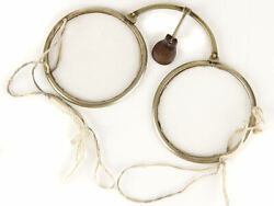C1800 Chinese Tabless White Metal Glass Reading Spectacles
