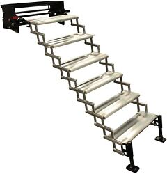 Torklift A8106 Glowstep Revolution 6 Step Entry Steps With Landing Gear