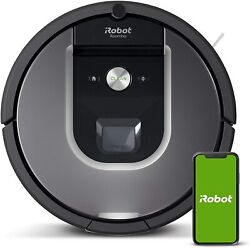 Irobot Roomba 960 Robot Vacuum- Wi-fi Connected Mapping, Works With Alexa, Ideal