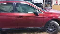 Passenger Front Door 15 Legacy Outback Wagon Base Power Us Mkt Red 2417336