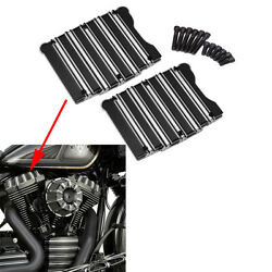 Motorcycle Black Gauge Rocker Box Top Cover For Harley Touring Twim Cam Dyna Us