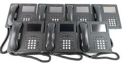 Lot Of 98 - Avaya 9641g Digital Voip Business Office Telephones With Stands