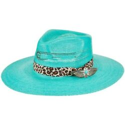 Charlie 1 Horse Ladies Right Meow Straw Hat Csrtmw-3436