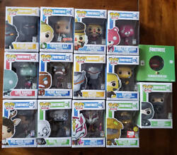 Funko Pop Fortnite Collection 13 Figures Total Originally Packaged
