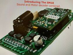 Phoenix Sm-18 Dcc And Sound System For Bachmann C-19 2-8-0 In Stock Brand New