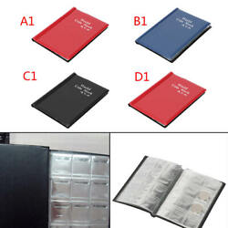 120 Album Coin Penny Money Storage Book Case Holder Folder Collection Collecting