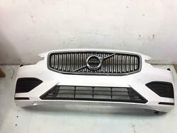 2019 - 2021 Volvo S60 Front Bumper W/park Assist Grille W/o Fog Lamps