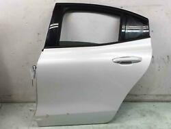 2019 - 2021 Volvo S60 Left Rear Driver Door Shell Crystal White Pearl707