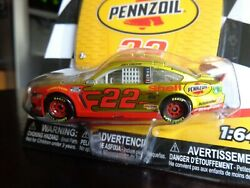 Joey Logano 22 Pennzoil Mustang Gt 1/64 Rcca Lionel 2020 Liquid Color Chase