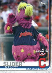 2019 Topps Opening Day Mascots M-2 Slider Cleveland Indians