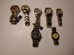 Lot Of 7 New Curren Watches Ships From Usa - Offers Welcome