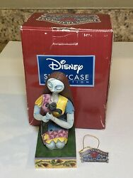 Retired Jim Shore Disney Traditions And039season In Bloomand039 Sally 4039064 Signed