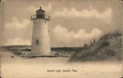 Ipswich Lightma Essex County Massachusetts N.e. Paper And Stationery Co. Postcard