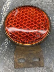Vintage 1930s Yankee Tag Topper Reflector Ford 1932 1935 1936 Glass Rat Hot Rod