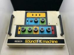 Remco Sound Fx Machine Electronic Toy Moog 1970s Vintage Toy Rare F/s From Japan