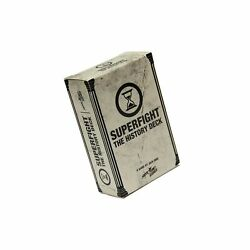 Superfight History Deck 100 Historical Themed Cards For The Game Of Absurd A...