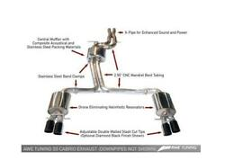 Awe Tuning Touring Edition Exhaust System Silver Tips 102mm Fits B8.5 S5 3.0t