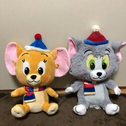 Tom And Jerry Plush Doll Winter Ver Set Tom And Jerry 30cm Soft Toy Prize